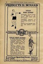 Everlast Boxing & Soccer Equipment - Everlast Sporting Goods Mfg. Co.  -  1924