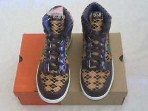 Nike-Dunk-High-Premium-312786-531-Samurai-Pack-Cave-Purple-Pine-Green-Men-US-11