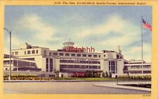 THE NEW $11,000,000 SEATTLE-TACOMA INTERNATIONAL AIRPORT 1953