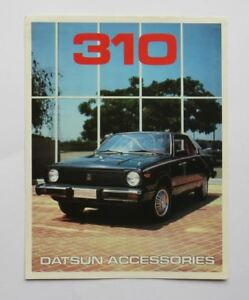 1979-Datsun-310-Brochure-Accessories-Vintage-Original