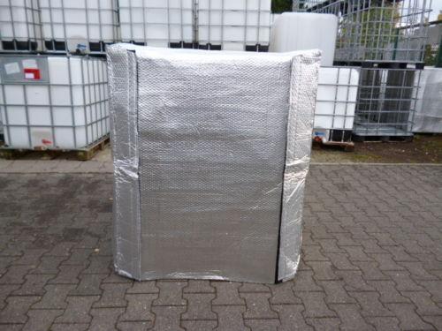 Thermohülle Frostschutz für IBC Tank 1000 Liter mit Klettverschluss