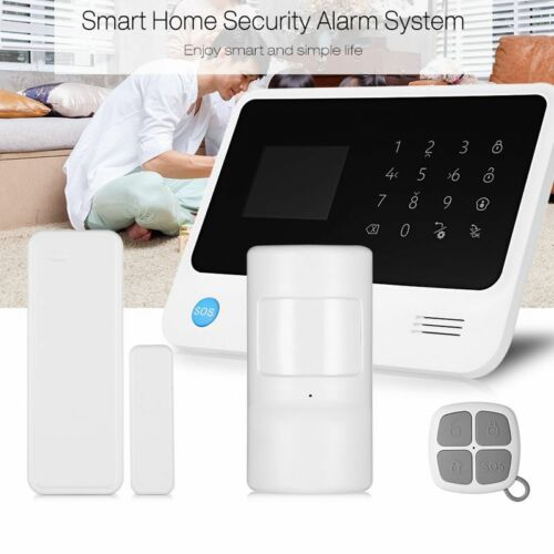 GS-G90B WiFi GPRS GSM Wireless Alarm System Home Security Sensor Detector 433MHz