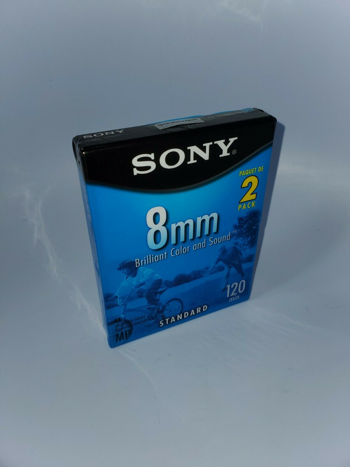 Sony 8mm Video 8 Camcorder Cassette Tapes 2 Pack 120 Minutes New