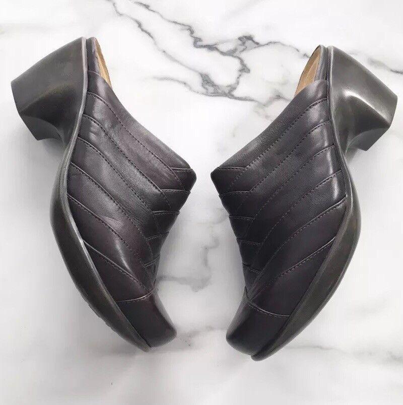 NAOT Beyond Leather Clogs In French Roast braun Größe Größe Größe 38 EU 7 7.5 US 0dfa5b