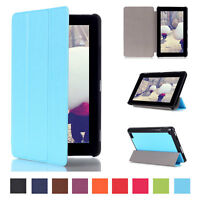 For Amazon Kindle Fire Hd 7 2015 Kickstand Leather Flip Folio Case Cover Tablet