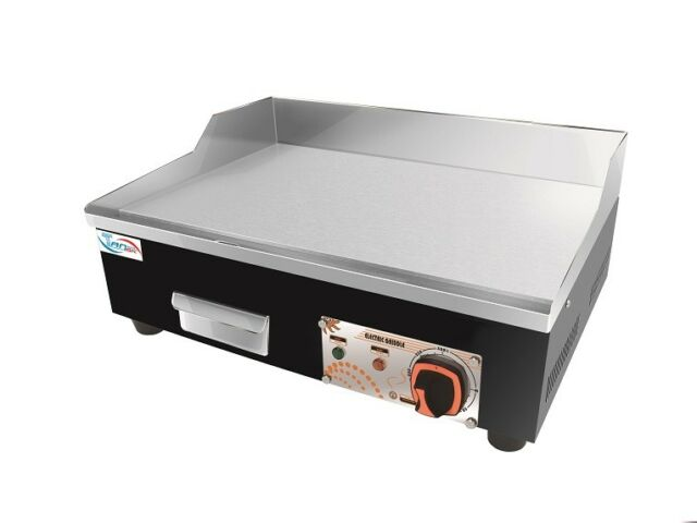 Commercial Kitchen Electric Contact Hotplate Grill Griddle 55cm ...