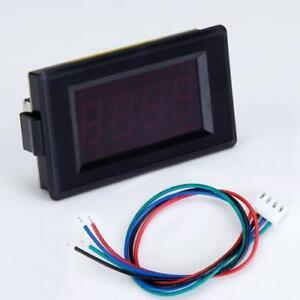 3-Digital-Red-LED-200-Ohm-Panel-Meter-Resistance-Test-Ohmmeter-Gauge-DIY