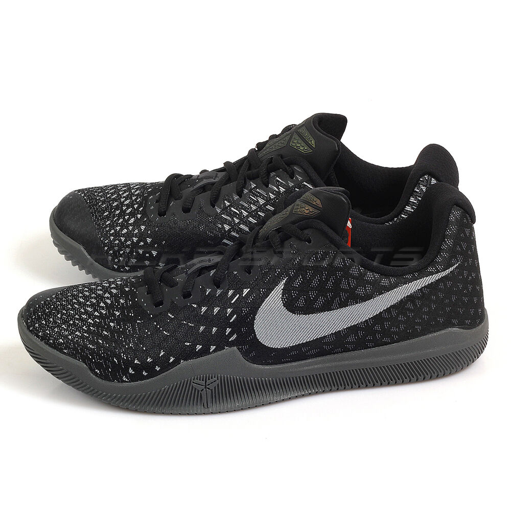 Nike Mamba Instinct EP Dark Grey/Black-Wolf Grey Basketball Shoes 884445-001