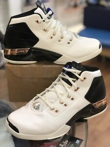3a3759d4b86 Mens Nike Air Jordan 17 XVII + White Black Copper Retro 832816-122 ...