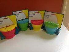 The Snack Pod  Cup Prevent Spills Ultimate Training Tool Toddlers Prevents Spill
