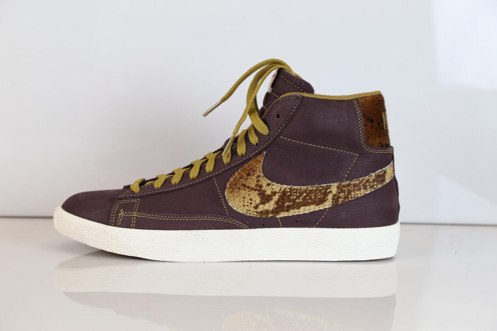 Nike Blazer Mid Premium Vintage VNTG QS Mahogany Sail 638322-animal 8 1