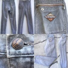 "ORIGINAL Rusty Lopez JEANS Gray Sanforized Sz 26 (27"" Waist)"