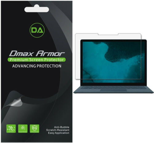 3x Dmax Armor Clear Screen Protector for Microsoft Surface Laptop 2 //Laptop