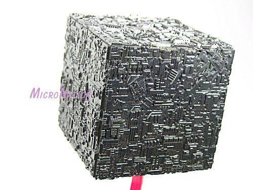 3 B5 Miniature Model Borg Cube Furuta Star Trek Vol