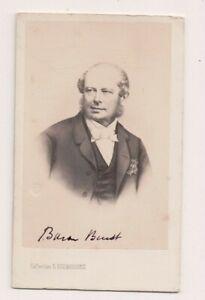 Vintage-CDV-Count-Friedrich-Ferdinand-von-Beust-Austrian-Noble-Desmaisons-Photo
