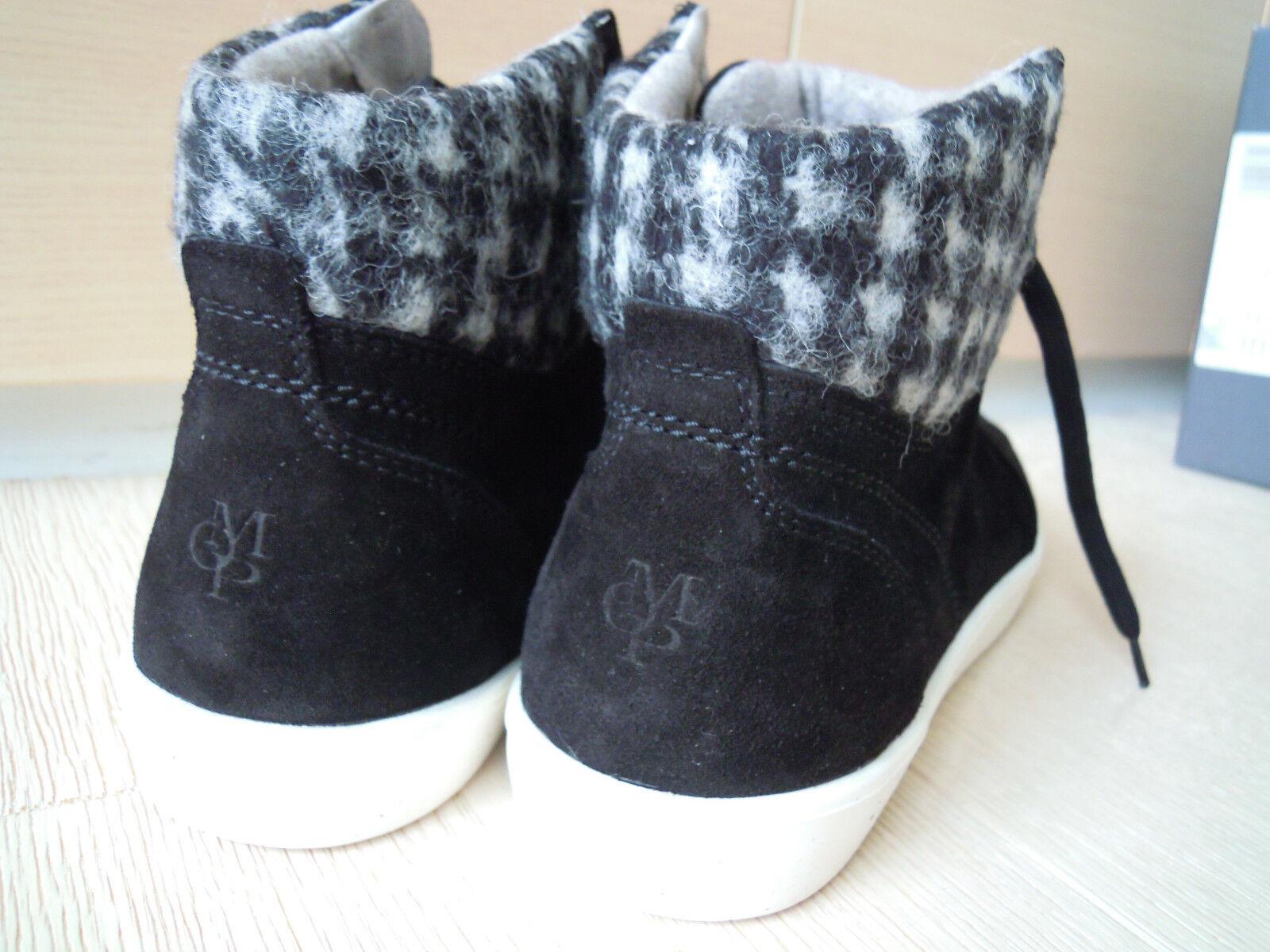 Marc O'Polo Sneaker Leder schwarz Schuhe Damen Gr. 40 Herren & Damen Schuhe 7f1f66