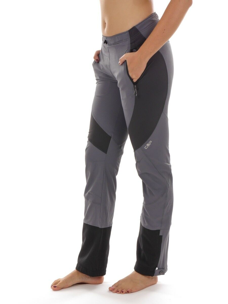 CMP Multi-Sporthose Casual Trousers Functional Pants Grey Stretch uv Predection
