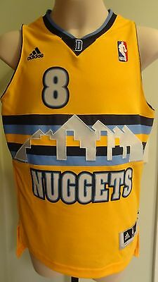 NWT Adidas NBA Denver Nuggets Danilo Gallinari Swingman Jersey: S (8)-XL (18/20)