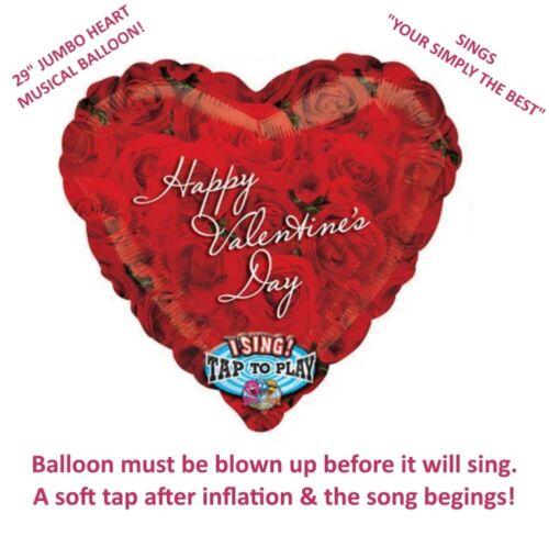 Anagram gran amor corazón feliz día de San Valentín cantar Globo de Helio Regalo