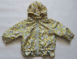 Baby & Toddler Clothing Girls' Clothing (newborn-5t) Expressive Next Girl`s Cagoule Jackets Yellow Lemon Print Size 3-6,9-12,1.5-2 Years