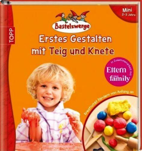 1 von 1 - Bastelzwerge ** Erstes Gestalten mit Teig und Knete ** 2-3 Jahre ** Frech Verlag