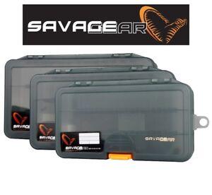 Savage-Gear-Esca-Contenitori-Esche-Jig-Predatore-Attrezzatura-Pesca-Spigola