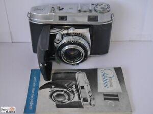 Kodak-Retina-2c-Klappkamera-mit-Entfernungsmesser-Objektiv-2-8-50mm-Anleitung