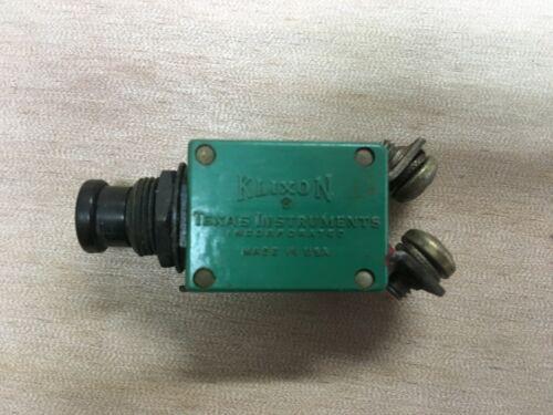 Klixon Aircraft Circuit Breaker