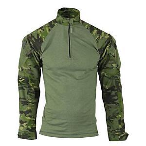 MultiCam-Tropic-Camo-1-4-Zip-Tactical-Combat-Shirt-by-TRU-SPEC-2537-FREE-SHIP