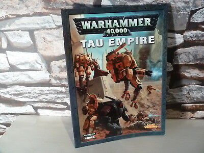 Affidabile Games Workshop: Impero Tau Warhammer 40k Codex Soft Back Libro Usato.-mostra Il Titolo Originale