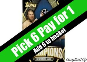 Topps-WWE-Champions-2019-Trading-Cards-Base-Cards-x-1