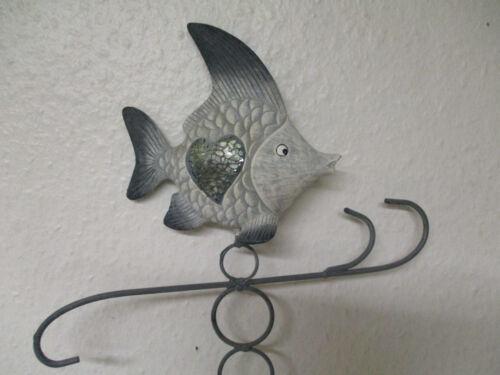 Gartenstecker Fisch Stecker Teichdeko Fische maritime Deko maritim Außen Garten