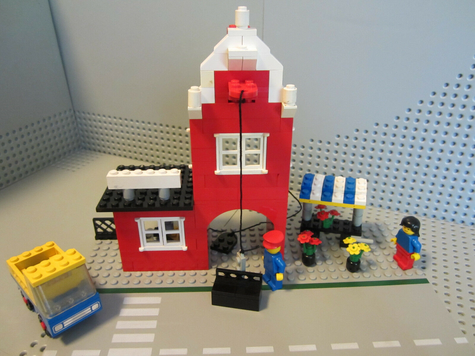 LEGO 1620 Chocomel Factory - Town City Alt Stadt Stadtviertel 1978 - RAR