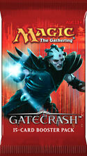 MTG GATECRASH BOOSTER 2 COUNT FREE SHIP LOOK 4 POOL,STOMPING,GODLESS,SACRED