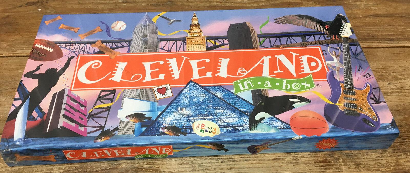 Cleveland Opoly Clevelandopoly Board Game NIP New Landmark City Box 730799001109