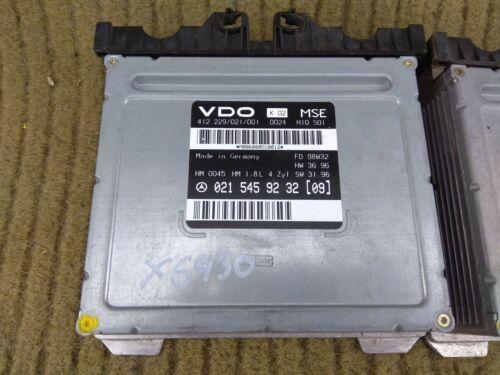 Mercedes W202 C180 Engine Control Unit ECU 0215459232 VDO MSE HM MSG