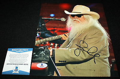 Heartbreak Hotel Tight Rope Beackett Bas B05783 Leon Russell Signed 8 X 10