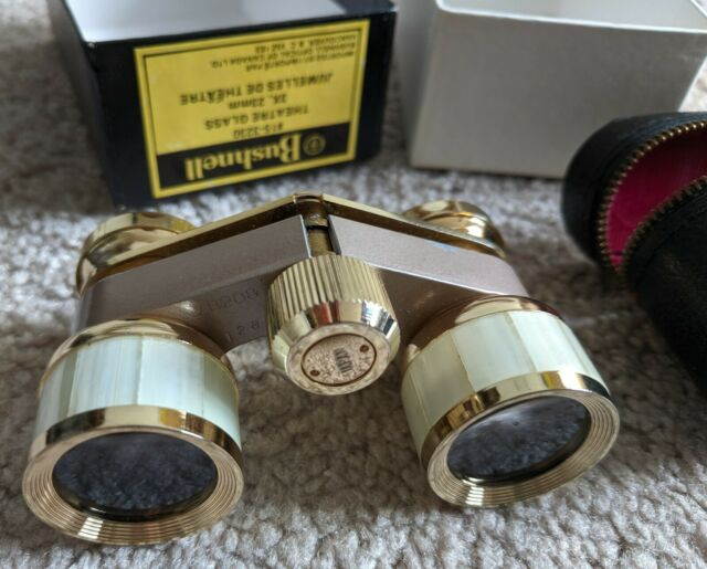 Bushnell 15-3230 Theater Glasses Binoculars 3x23 Mother of Pearl Trim