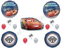 Disney Cars 3 Birthday Party Balloons Decoration Supplies 14 Pc Lightning Cruz