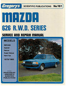 Mazda-626-R-W-D-Series-1979-1983-Service-and-repair-Manual-No-181