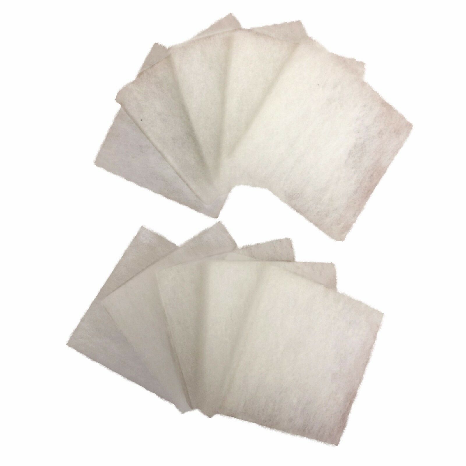100 x Compatible Poly Pads Suitable For Juwel Jumbo   BioFlow 8.0 Filters