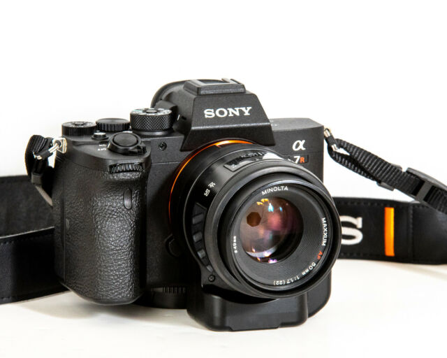 Sony A7R IV 35mm Full-Frame Camera 61.0MP with 50mm Lens, LA-EA4 Adapter