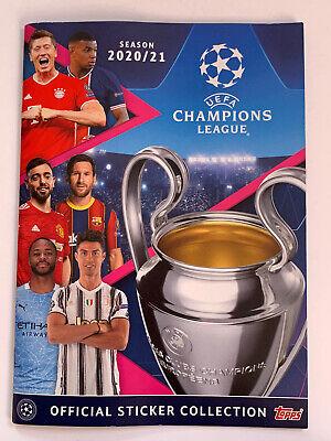 Topps Champions League sticker 2020//2021 álbum bolsas display Tin box escoger