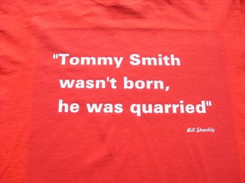 Liverpool legenda TOMMY SMITH T-shirt /& Sudore Camicia Inc 4XL /& 5XL regalo di compleanno