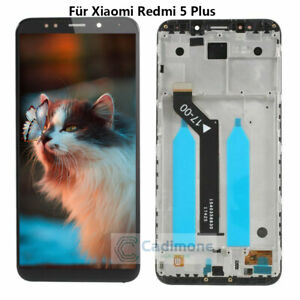 For-Xiaomi-Redmi-5-Plus-LCD-Display-Touch-Screen-Assembly-Replacement-Frame