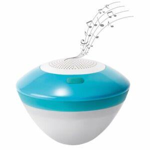 Intex 28625 Floating Led Light With Bluetooth Speaker 3w