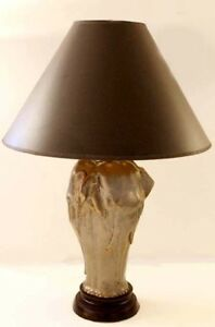 Beautiful Image Is Loading VINTAGE CHAPMAN SCULPTURAL BRONZE ELEPHANT TABLE LAMP