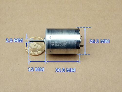 Mabuchi RF-370CB-11670 DC12V-24V 6250 tr//min Micro Brosse moteur de jouet accessoires