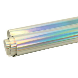 20x45cm-Silver-Holographic-Laser-Chrome-Iridescent-Vinyl-Car-Wrap-Film-DIY-Decor