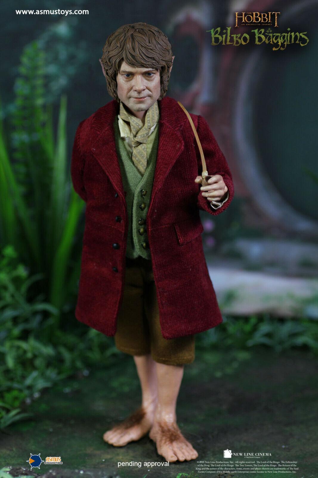 Asmus Collectible Toys The Hobbit Bilbo Sacquet Figurine échelle 1 6